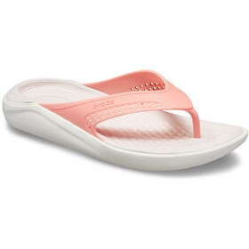 Crocs LiteRide Flip Sandals Unisex melon/white